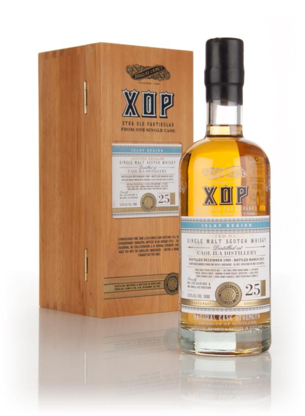 Caol Ila 25 Year Old 1989 (cask 10749) - Xtra Old Particular (Douglas Single Malt Whisky 3cl Sample