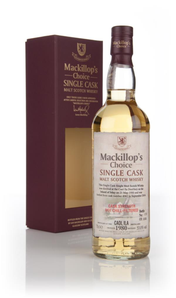 Caol Ila 34 Year Old 1980 (cask 4962) - Mackillops Choice Single Malt Whisky