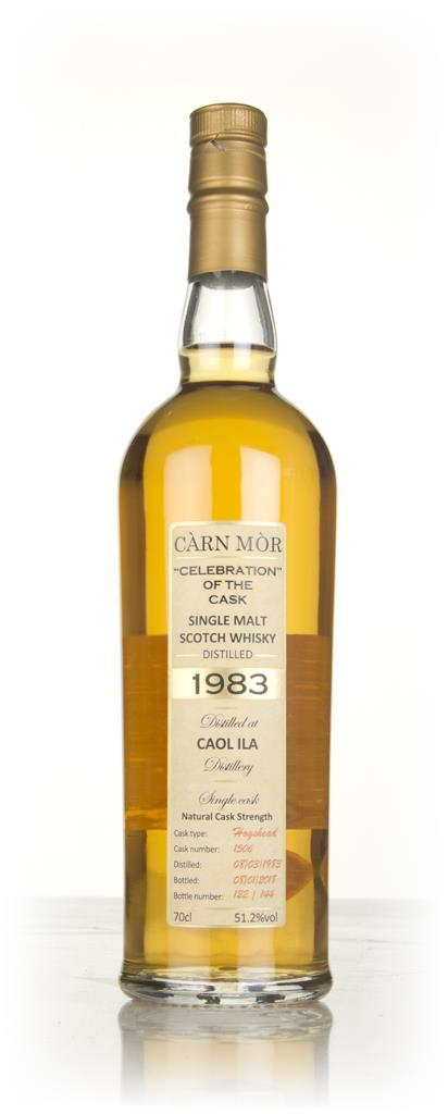 Caol Ila 34 Year Old 1983 (cask 1506) - Celebration of the Cask (Carn Single Malt Whisky