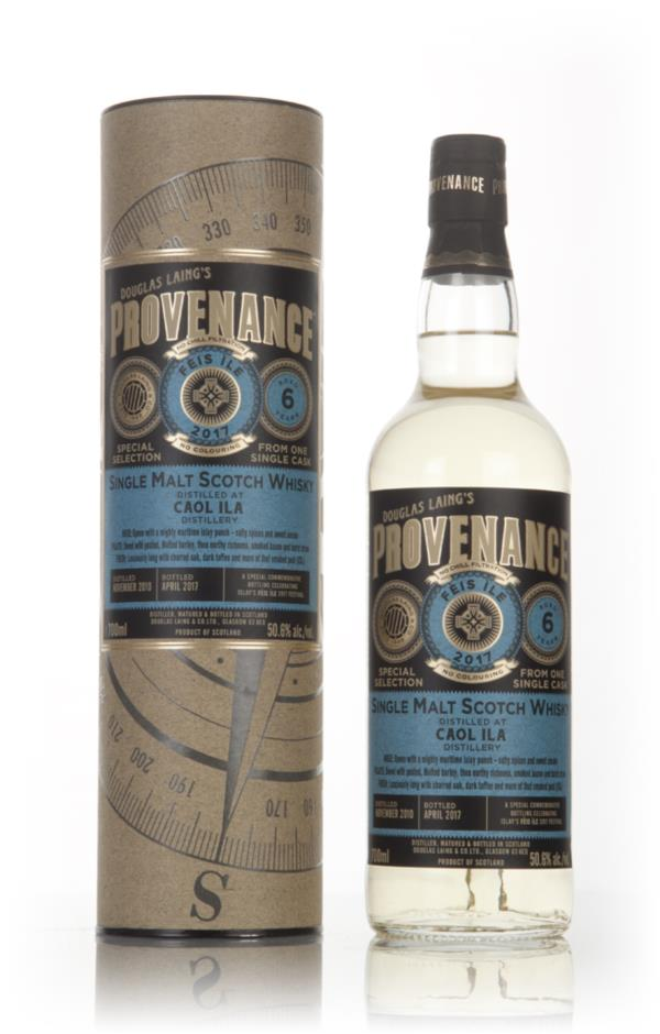 Caol Ila 6 Year Old 2010 Feis Ile 2017 - Provenance (Douglas Laing) Single Malt Whisky