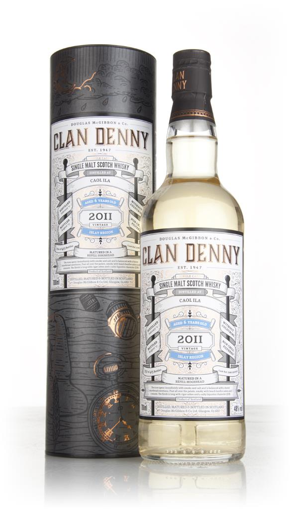 Caol Ila 6 Year Old 2011 (cask 12090) - Clan Denny (Douglas Laing) Single Malt Whisky
