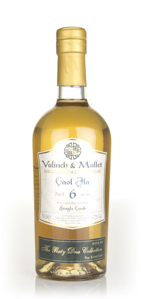 Caol Ila 6 Year Old 2011 (Koval Rye Cask) - The Peaty Dna Collection ( Single Malt Whisky