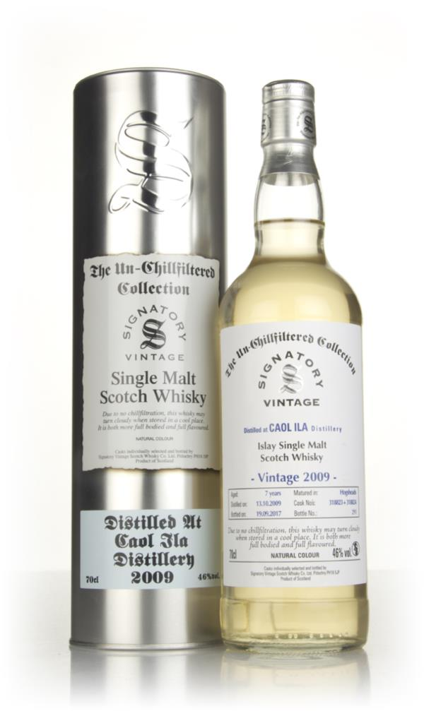 Caol Ila 7 Year Old 2009 (casks 318823 & 318824) - Un-Chillfiltered Co Single Malt Whisky