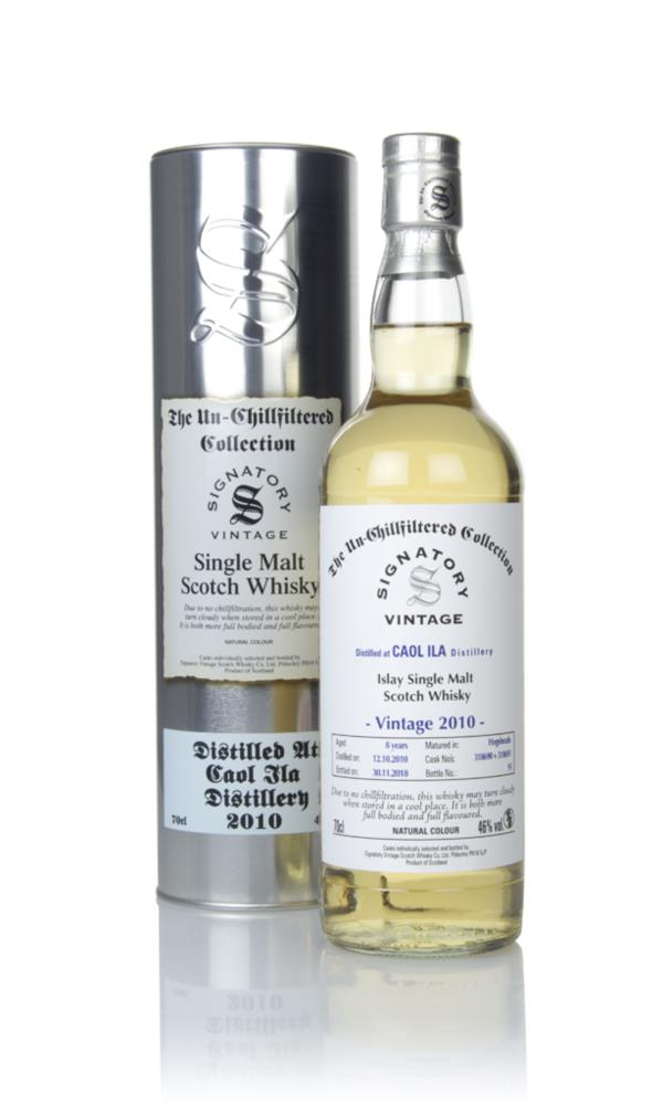 Caol Ila 8 Year Old 2010 (cask 318690 & 318691) - Un-Chillfiltered Col Single Malt Whisky