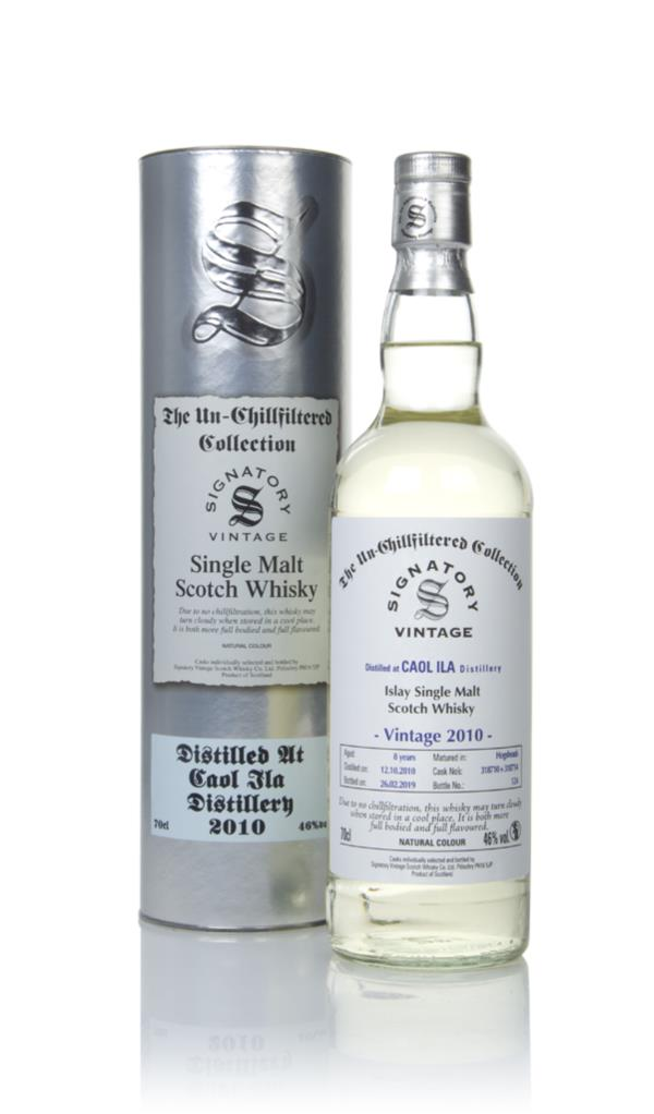 Caol Ila 8 Year Old 2010 (casks 318710 & 318714) - Un-Chillfiltered Co Single Malt Whisky