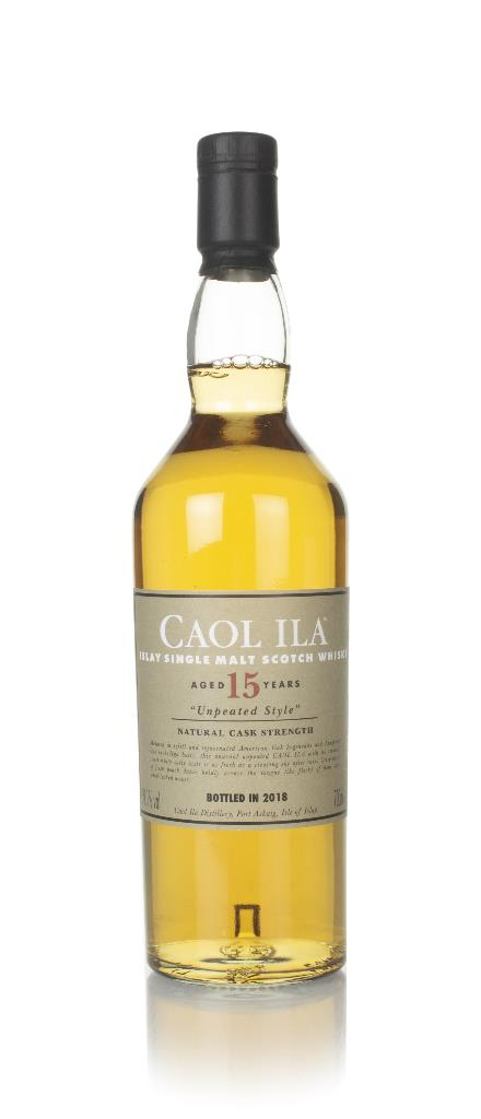 Caol Ila Unpeated 15 Year Old (Special Release 2018) Single Malt Whisky
