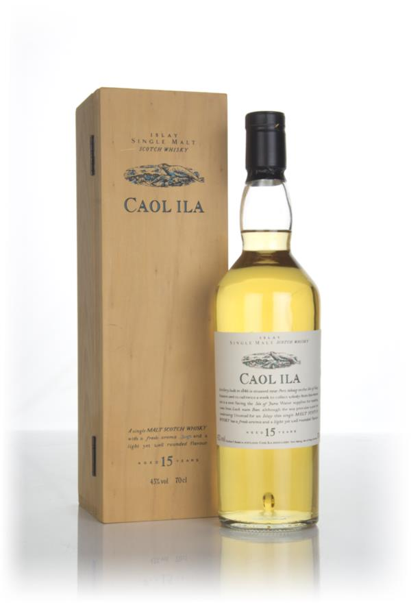 Caol Ila 15 Year Old - Flora and Fauna (with Wooden Presentation Box) Single Malt Whisky