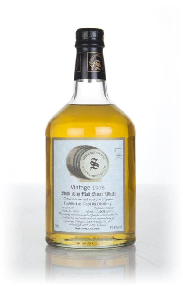 Caol Ila 25 Year Old 1976 (cask 8088) - Signatory Single Malt Whisky