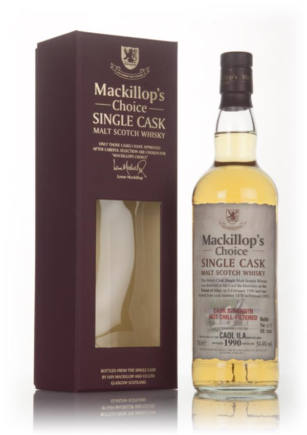 Caol Ila 25 Year Old 1990 (cask 1478) - Mackillops Choice 3cl Sample Single Malt Whisky