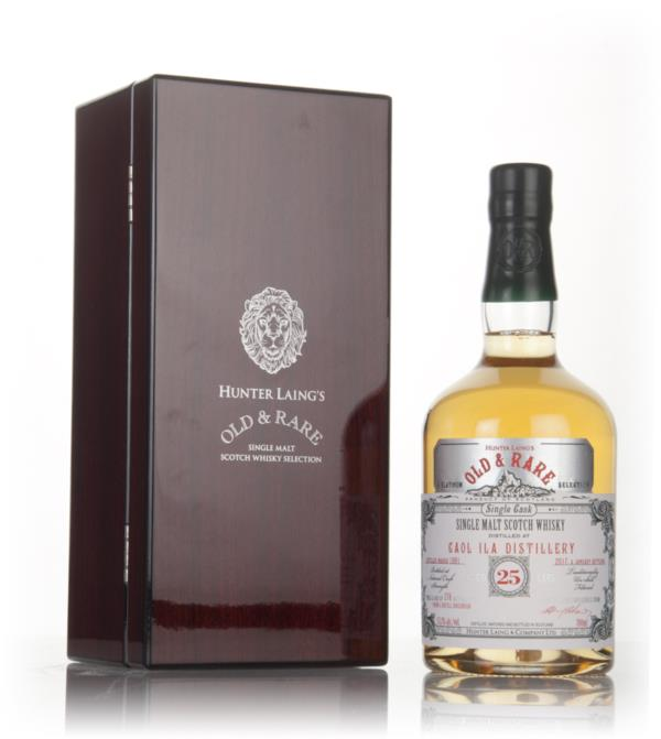 Caol Ila 25 Year Old 1991 - Old & Rare Platinum (Hunter Laing) Single Malt Whisky