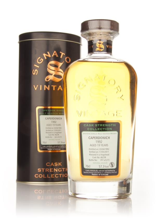 Caperdonich 19 Year Old 1992 Cask 46238 - Cask Strength Collection (Si Single Malt Whisky