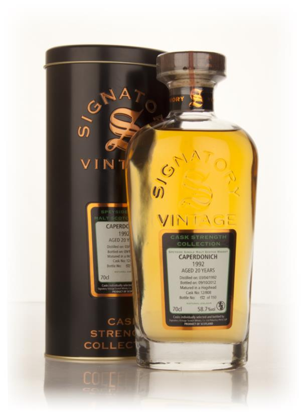 Caperdonich 20 Year Old 1992 (cask 12/808) - Cask Strength Collection Single Malt Whisky
