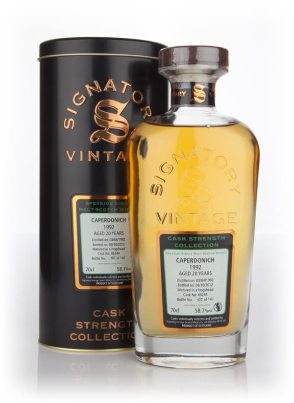 Caperdonich 20 Year Old 1992 Cask 46244  - Cask Strength Collection (S Single Malt Whisky