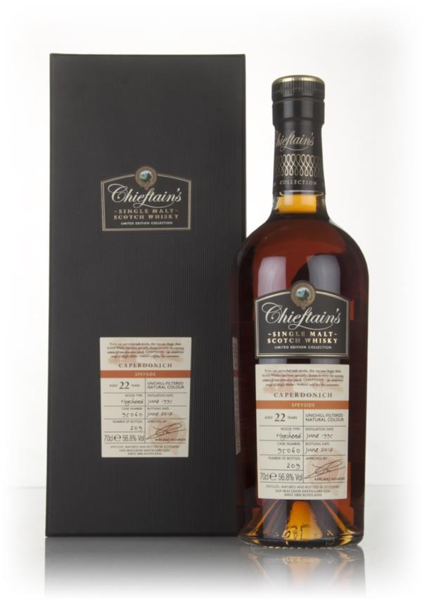 Caperdonich 22 Year Old 1995 (cask 95060) - Chieftains (Ian Macleod) Single Malt Whisky
