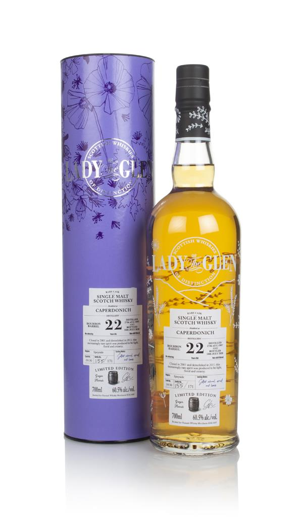 Caperdonich 22 Year Old 1997 (cask 19130) - Lady of the Glen (Hannah W Single Malt Whisky