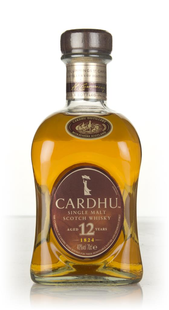 Cardhu 12 Year Old Single Malt Whisky