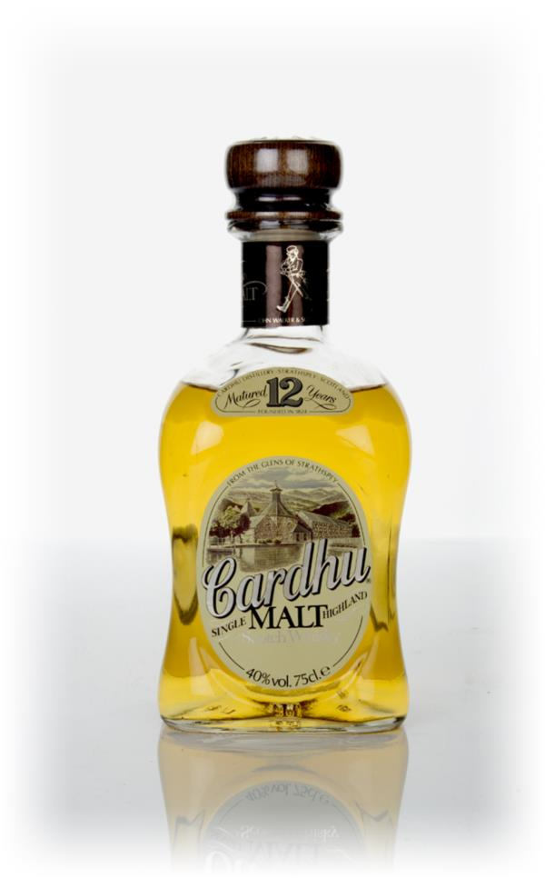 Cardhu 12 Year Old - 1970s Single Malt Whisky