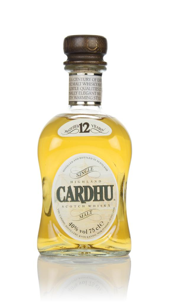 Cardhu 12 Year Old - 1980s Single Malt Whisky