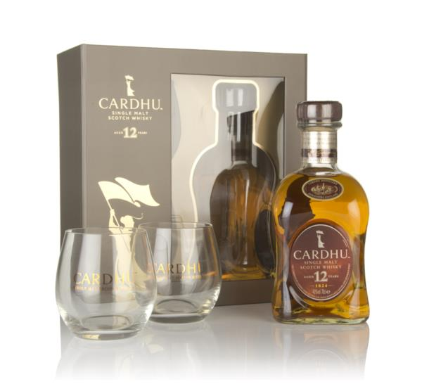 Cardhu 12 Year Old Gift Pack with 2x Glasses Single Malt Whisky