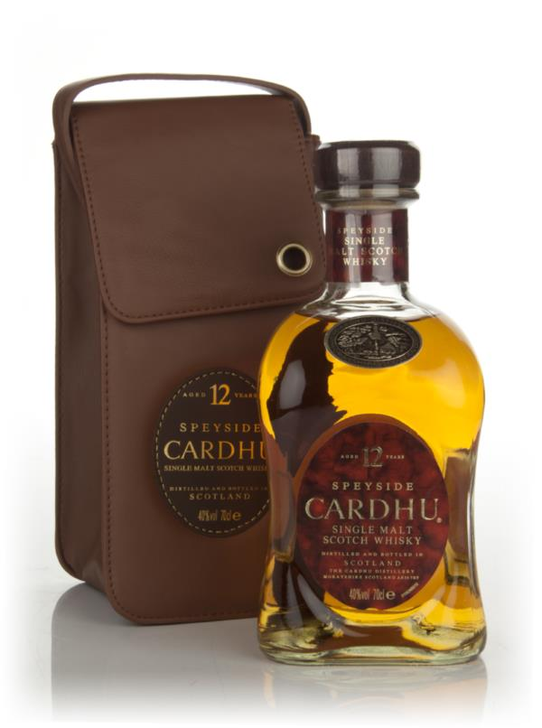 Cardhu 12 Year Old in Leather Pouch Single Malt Whisky