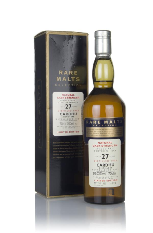 Cardhu 27 Year Old 1973 - Rare Malts Single Malt Whisk