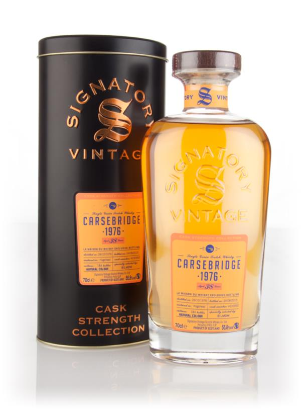 Carsebridge 38 Year Old 1976 (cask 130950) - Cask Strength Collection Grain Whisky 3cl Sample