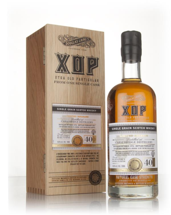 Carsebridge 40 Year Old 1976 (cask 11587) - Xtra Old Particular (Dougl Grain Whisky