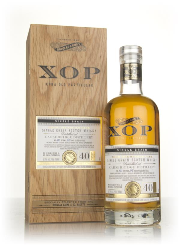 Carsebridge 40 Year Old 1976 (cask 12024) - Xtra Old Particular (Dougl Grain Whisky