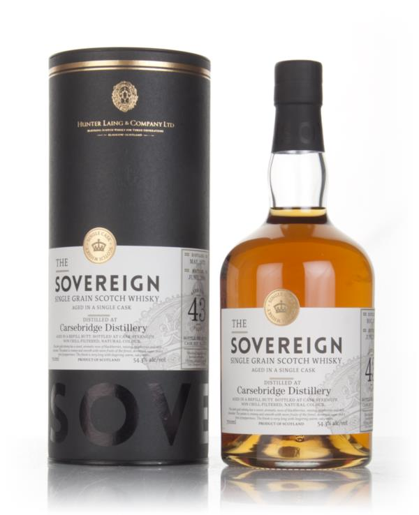 Carsebridge 43 Year Old 1973 (cask 12653) - The Sovereign (Hunter Lain Grain Whisky
