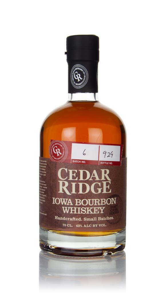Cedar Ridge Bourbon Port Cask Finish Bourbon Whiskey