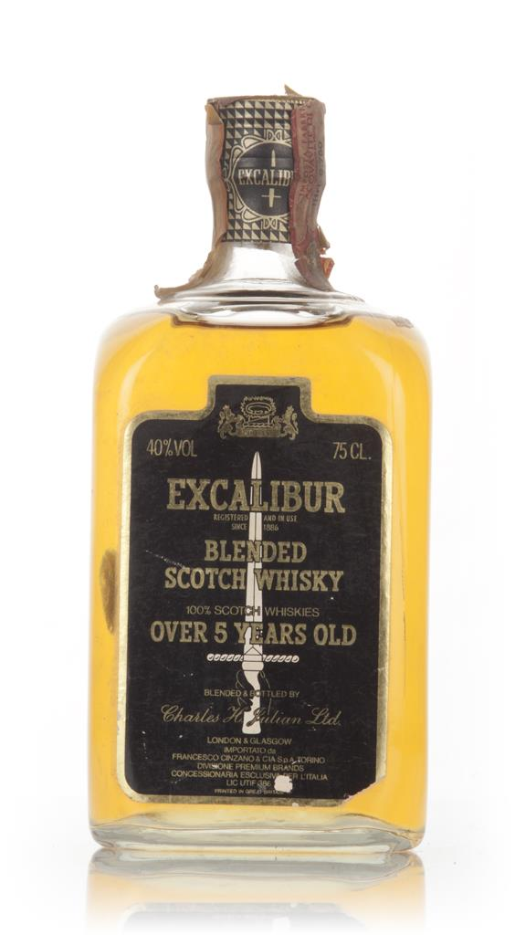 Excalibur 5 Year Old - 1970s Blended Whisky
