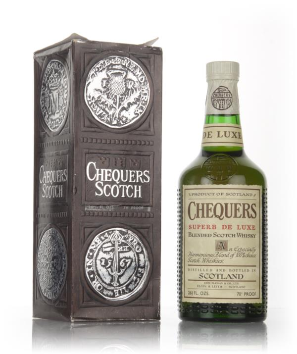 Chequers Superb De Luxe - 1970s Blended Whisky