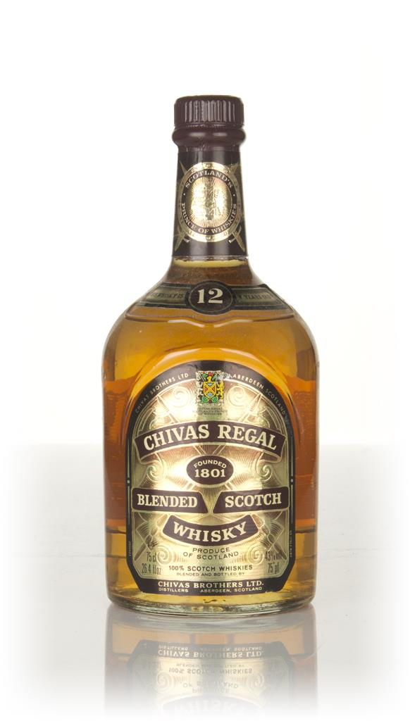 Chivas Regal 12 Year Old - 1980s Blended Whisky