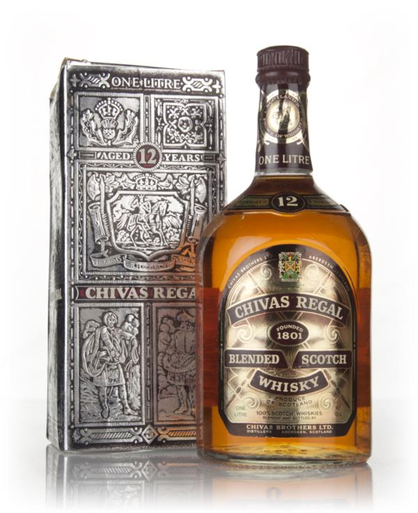 Chivas Regal 12 Year Old 1L - 1970s Blended Whisky