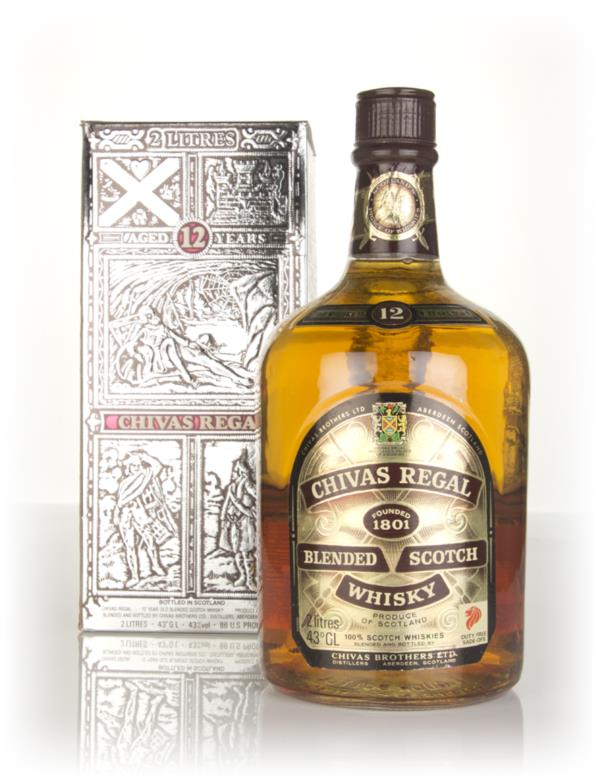 Chivas Regal 12 Year Old (2L) - 1980s Blended Whisky