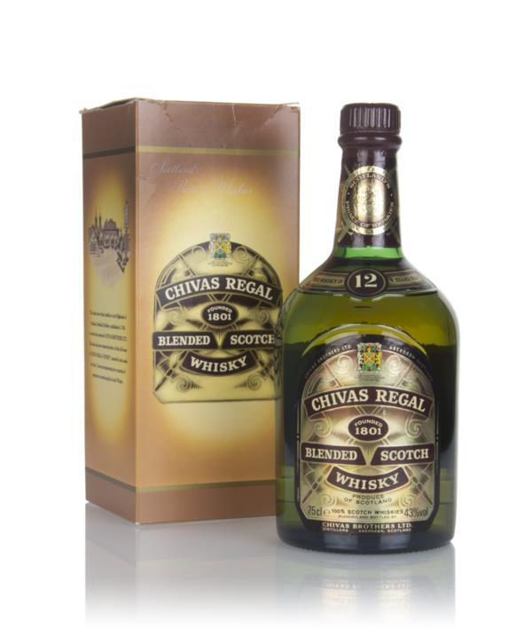 Chivas Regal 12 Year Old - Renfrew Road Silver Jubilee -1980s Blended Whisky