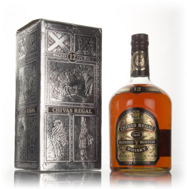 Chivas Regal 12 Year Old US Gallon - 1970s Blended Whisky