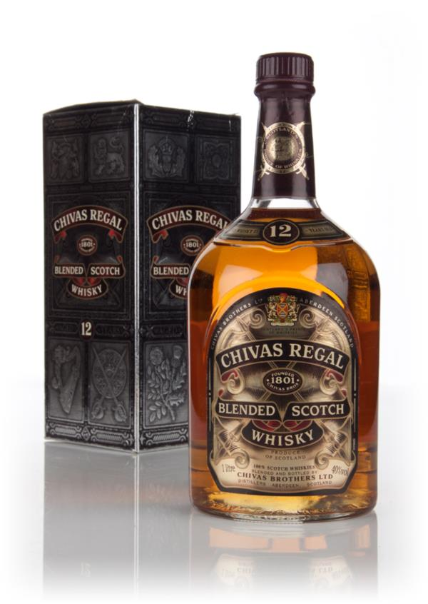 Chivas Regal 12 Year Old 100cl - 1980s Blended Whisky