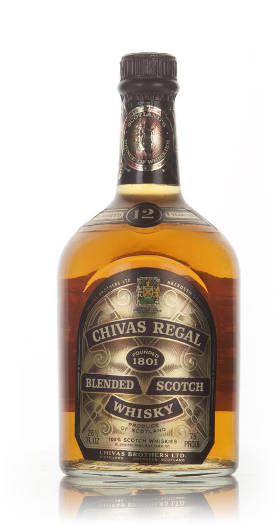 Chivas Regal 12 Year Old - 1970s Blended Whisky