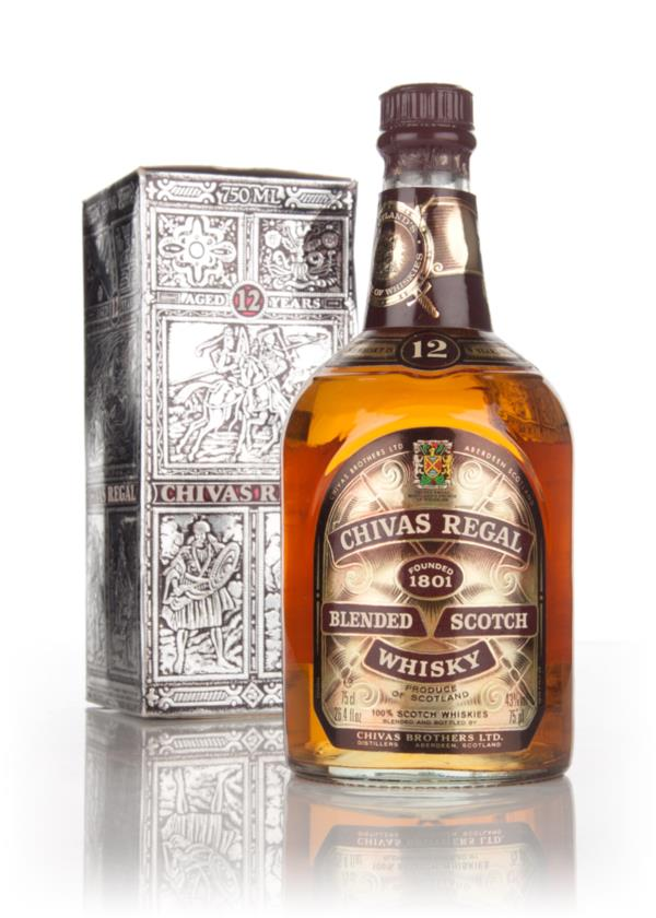 Chivas Regal 12 Year Old (43%) (Boxed) - 1970s Blended Whisky