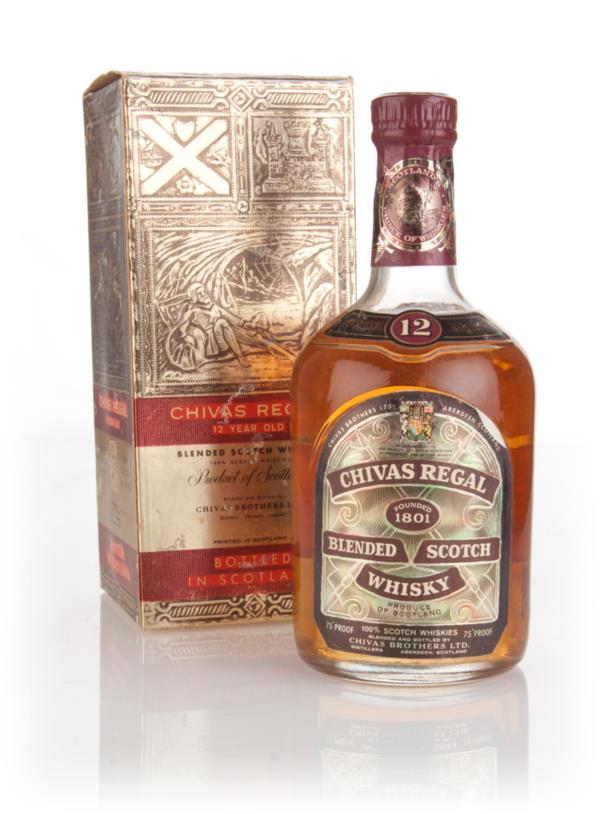 Chivas Regal 12 Year Old (Gold Box) - 1970s Blended Whisky