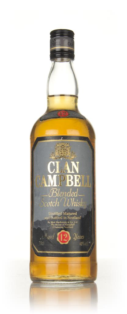 Clan Campbell 12 Year Old - 1980s Blended Whisky