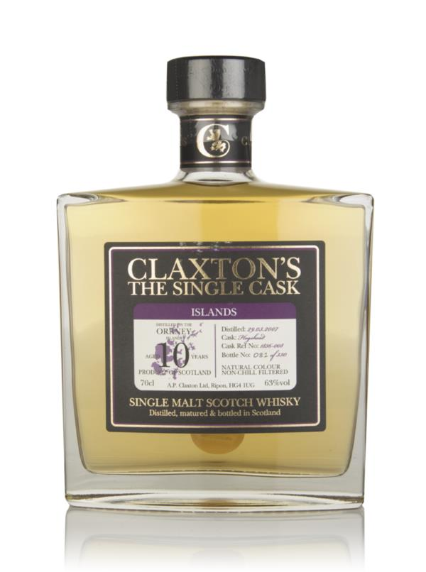 Orkney 10 Year Old 2007 - Claxton's 3cl Sample Single Malt Whisky