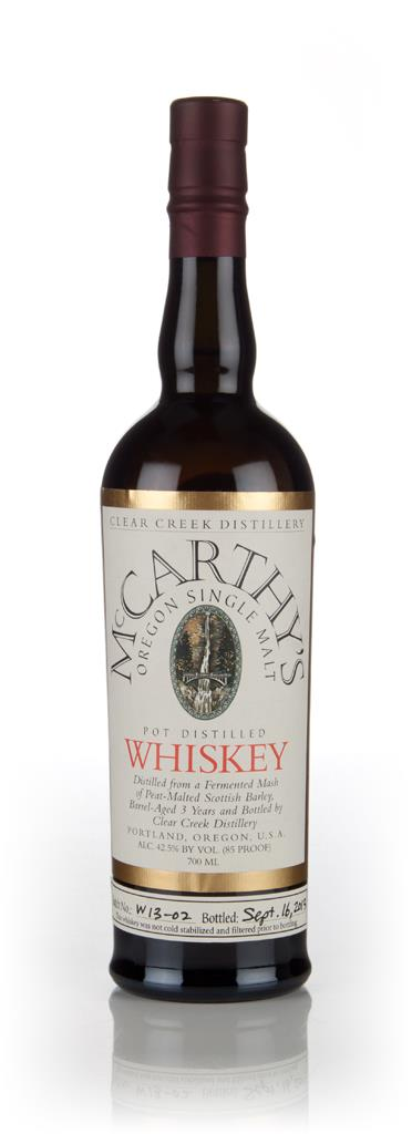 McCarthys Oregon Single Malt Single Malt Whiskey