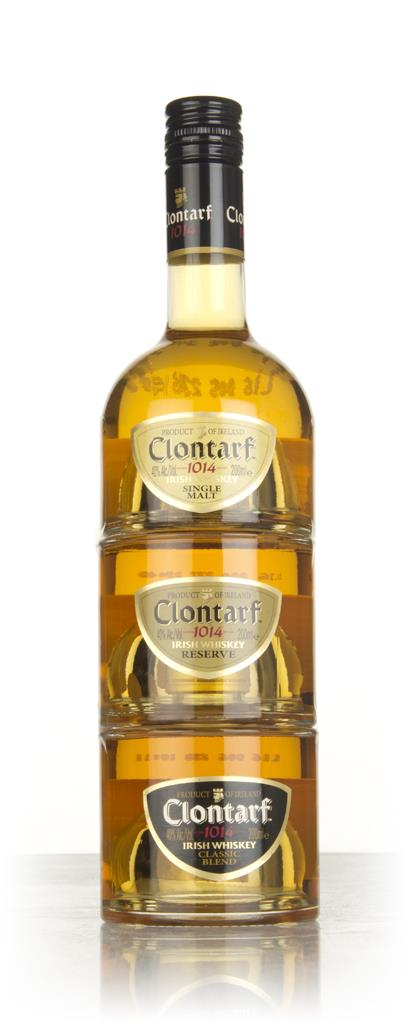 Clontarf Irish Whiskey Trinity 3x20cl Blended Whiskey