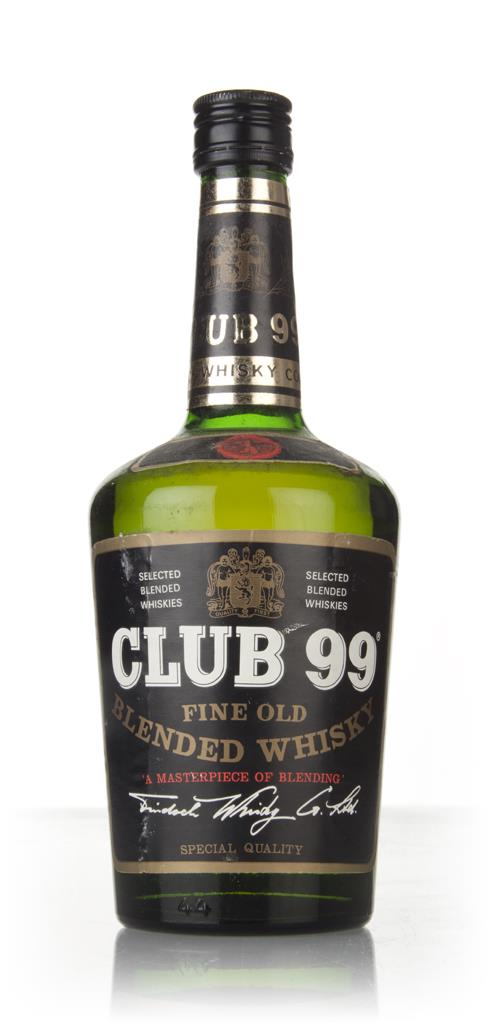 Club 99 - 1970s Blended Whisky