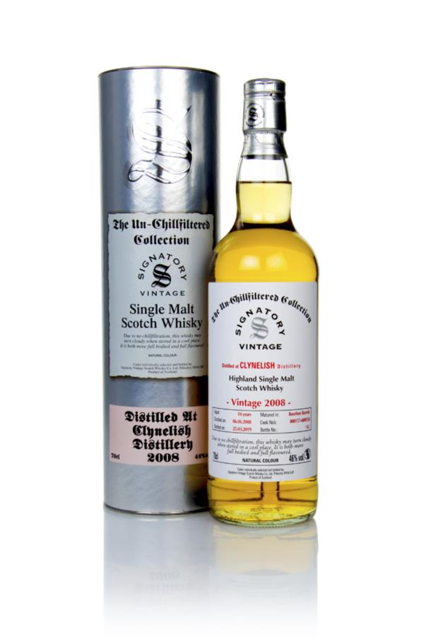 Clynelish 10 Year Old 2008 (cask 800128 & 800129) - Un-Chillfiltered C Single Malt Whisky