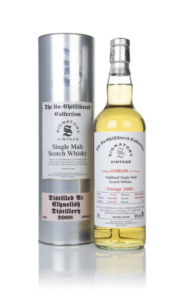 Clynelish 10 Year Old 2008 (casks 800145 & 800161) - Un-Chillfiltered Single Malt Whisky