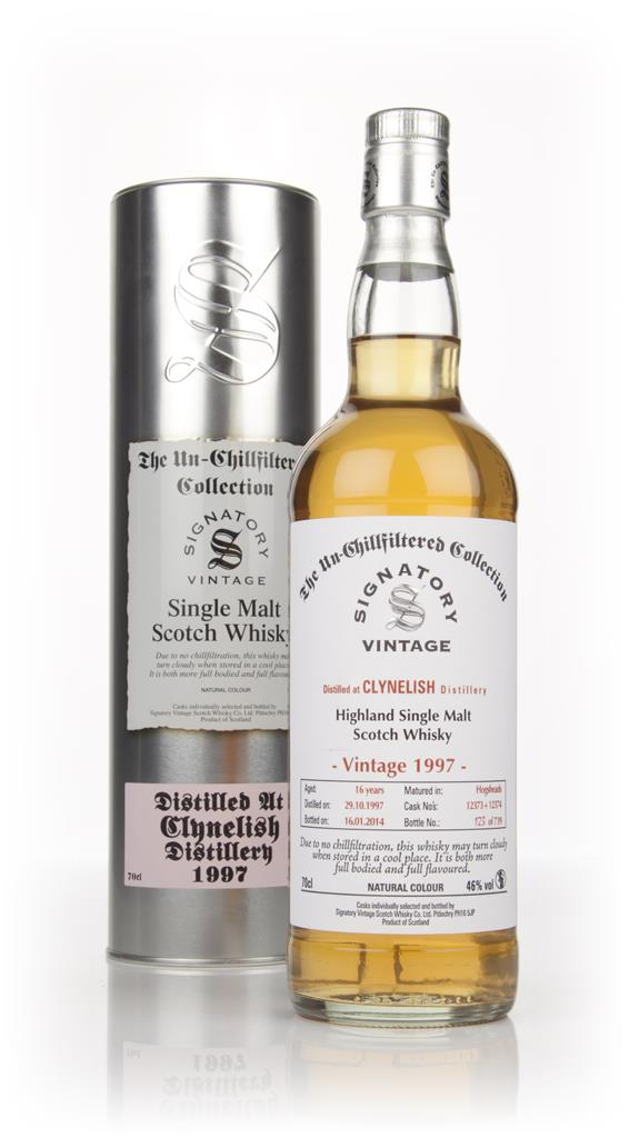 Clynelish 16 Year Old  1997 (cask 12373+12374) - Un-Chillfiltered (Sig Single Malt Whisky 3cl Sample