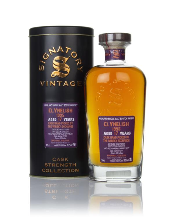 Clynelish 17 Year Old 1995 (cask 12794) - Cask Strength Collection (Si Single Malt Whisky
